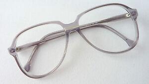 Meitzner-Diez-Herren-Brille-Brillengestell-Vintage-Pilotform-grau-klar-Gr-M