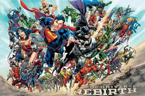 PP34115-637 61cm x 91.5cm Maxi Poster Rebirth DC Comics Justice League