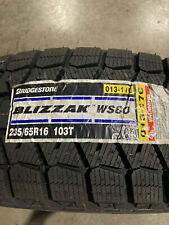 4 New 235 65 16 Bridgestone Blizzak Ws80 Snow Tires