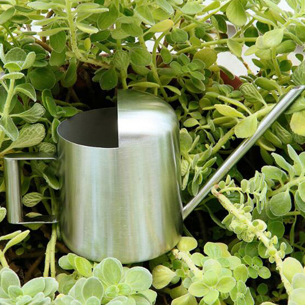 Retro Mini Watering Can 300ml Sprinkling Watering Bottle with Long Nozzle
