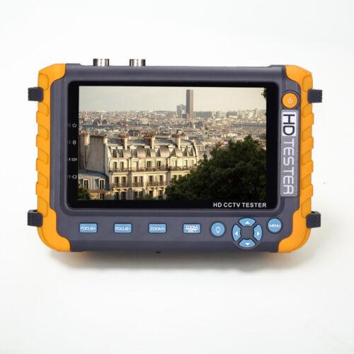 5inch 5MP 4-in-1 Tester Monitor TVI AHD CVI CVBS CCTV Security Camera USA Local