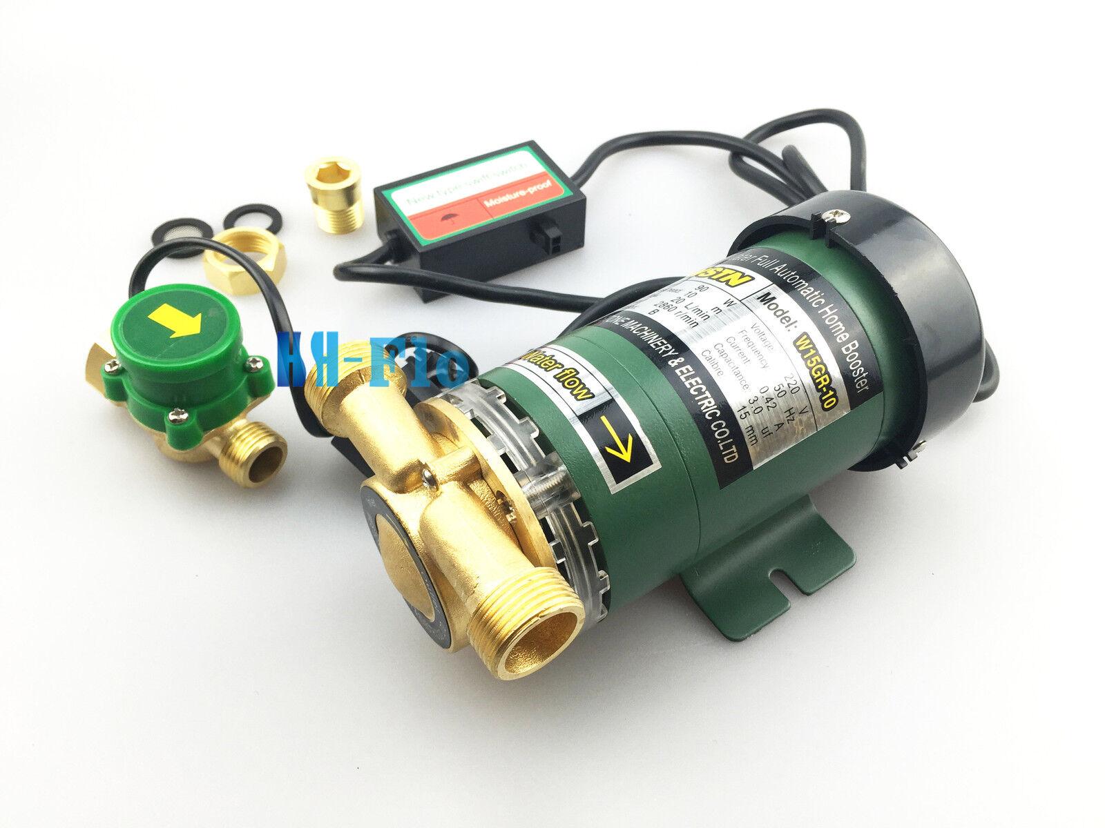 HSH-Flo 220VAC 90W Elettronica Automatica Doccia Doccia Doccia Lavata Dell'acqua Pompa Booster b8e82a