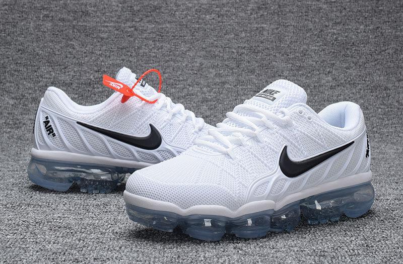 Nike Air Vapormax 2018 White White White Size 8 f8c59d
