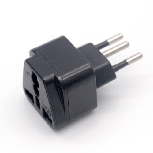 UK//US//EU//Russia To Brasil Brazil  Socket Power Adapter Plug Converter Travel