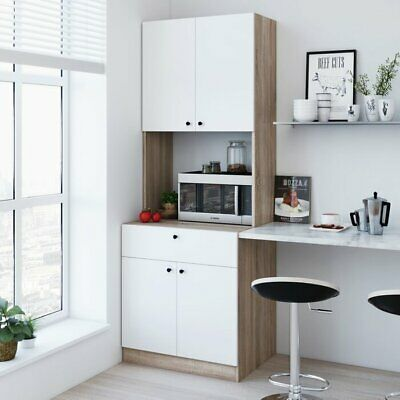 """71"""" Kitchen Pantry Food Storage Cabinet Cupboard Dining ..."""