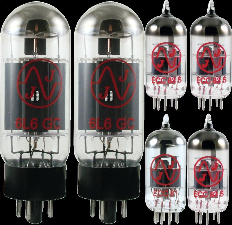 Tube Set - for Fender Bassman Top 70-watt JJ Electronics APEX Matched