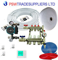 Underfloor Heating Kit Water 25 - 30 M2 (inc Solar Pump Omis )