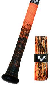 VULCAN-ADVANCED-POLYMER-BAT-GRIPS-STANDARD-1-75-MM-EMBER-NEW-DESIGN
