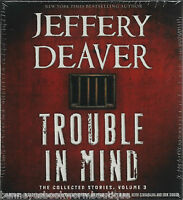 Trouble In Mind Jeffrey Deaver Audio Book Unabridged Cds Collected 3 Sealed