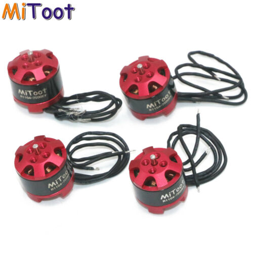4pcs Mitoot R1104 7500KV Brushless Motor for 2030 3020 Propeller RC Racing Drone