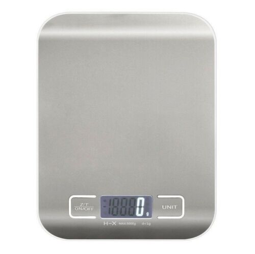 Compact Digital Kitchen Scale Diet Food Postal Mailing 5KG/11LBS x 1g