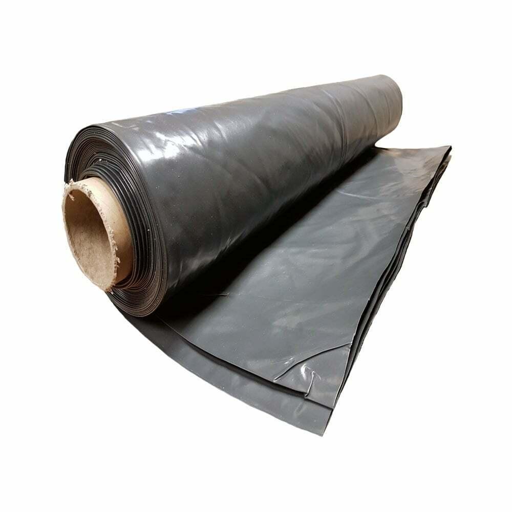 Heavy Duty Polythene Plastic sheeting 4M* wide DPM rolls 300MU 1200 Gauge