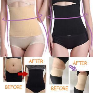 Women-Waist-Trainer-Cincher-Fat-Burner-Tummy-Control-Belt-Body-Shaper-Girdle-US