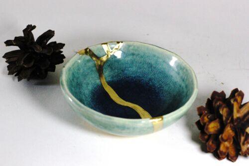 Blue Chidori Small Kintsugi