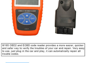 Scanner Diagnostic Code Reader New WESTKY W185 OBD2 OBDII Car Diagnostic Tool