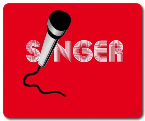 Musik 23x19cm Band Singer Mikro Mikrofon Mauspad Mousepad #88592