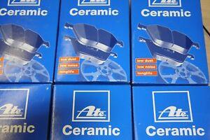 3008 Satz für vorne und hinten 283x26mm Ate Ceramic-Bremsbeläge Peugeot 308