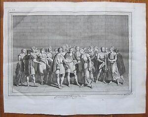 BELLIN: South America Inca Marriage - 1750