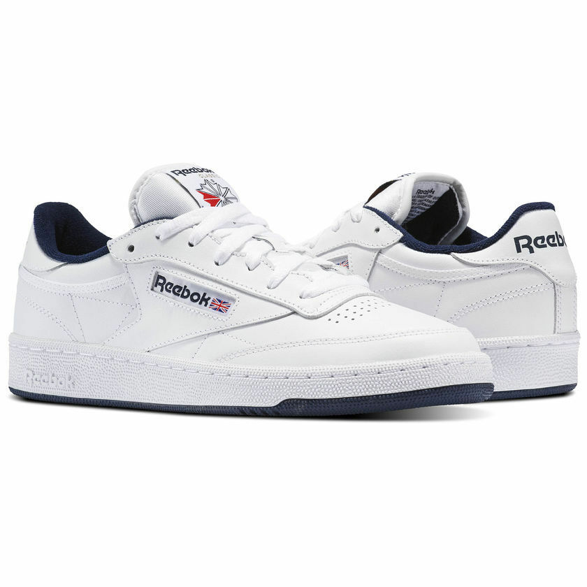 Reebok Classic Club C 85 blanc Navy hommes Casual Chaussures