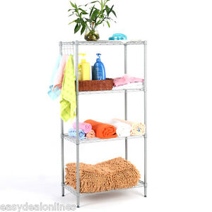 4-Tier-Wire-Metal-Home-Storage-Rack-Shelf-Garage-Organiser-Kitchen-Space-Saver