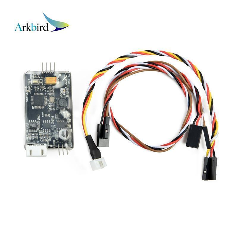 Arkbird Airborne módulo vista en primera persona Auto Antena Tracker cardán para 1.2GHz 2.4G 5.8GHz