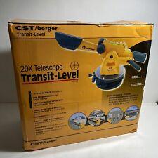 Cstberger 54 140b 20x Optic Transit Levelexcellent Condition