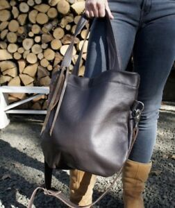 d3088456af Image is loading Rebyc-Etsy-Handmade-Tote-Crossbody-Purse-Bag-Leather-