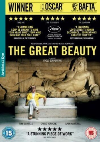1 of 1 - THE GREAT BEAUTY NEW DVD