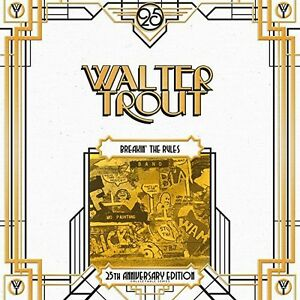 Walter-Trout-Breakin-039-the-Rules-25th-Anniversary-Series-LP-5-New-Vinyl-UK