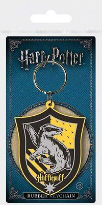 Responsabile Portachiavi Ufficiale Harry Potter Originale Tassorosso In Blister Regalo Alta Sicurezza