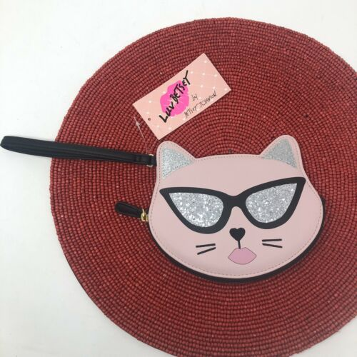 Love Betsey Betsey Johnson Cat Wristlet Sunglasses