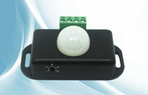 DC 12V-24V 8A Deluxe Automatic Infrared PIR Motion Sensor Switch For LED light