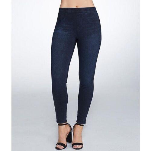 Spanx Jean-ish Medium Wash Ankle Legging Jeans
