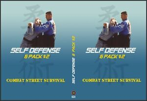 6 Pack of Awesome Self Defense DVDS for $32.00 and Free Shipping Best Value