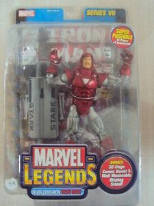 Marvel Legends Series 7 : Iron Man Silver Centurion 2004 Toy Biz Neuf