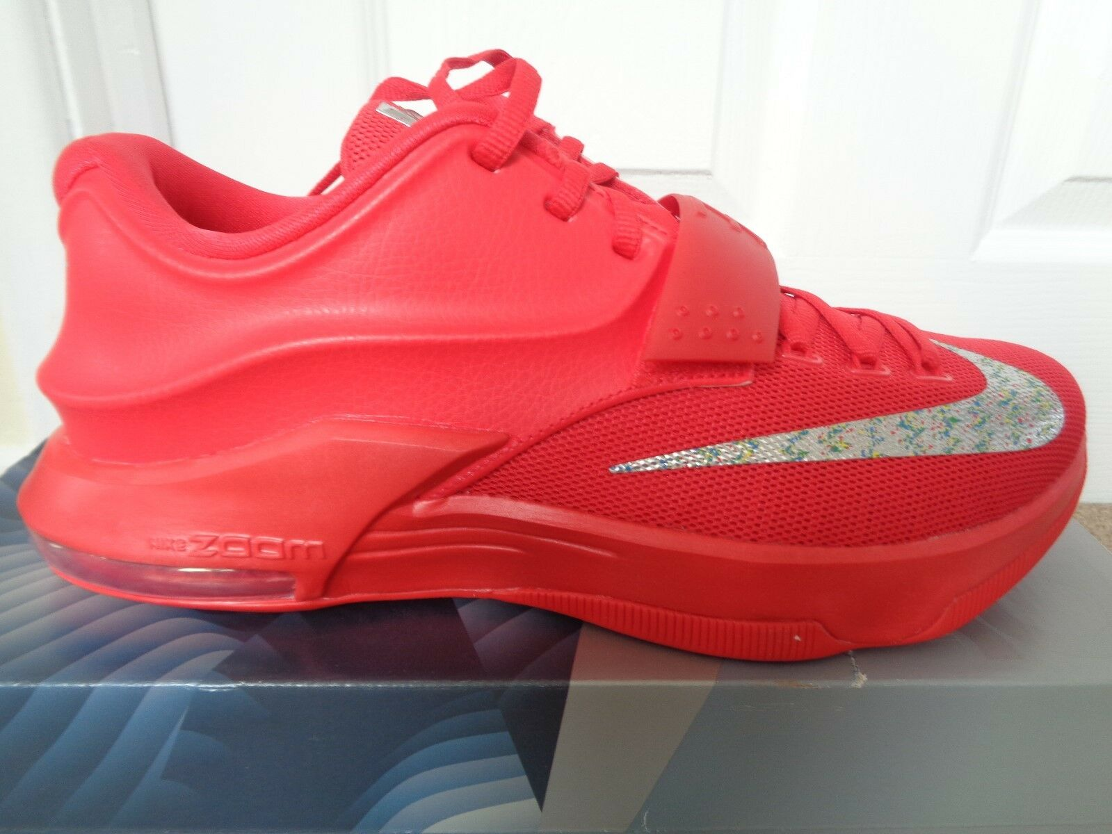 Nike kd vii scarpe formatori scarpe 653996 660 ue 42 nuovi   box