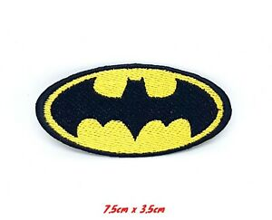 Batman Logo Comic character DC Comics Embroidered Iron or Sew on Patch #052
