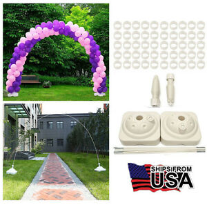Large balloon arch column stand frame kit for birthday wedding party image is loading large balloon arch column stand frame kit for junglespirit Choice Image