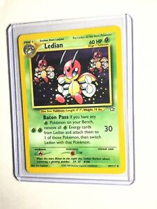 LEDIAN-Neo-Genesis-Set-39-111-Uncommon-Pokemon-Card-Unlimited-NM