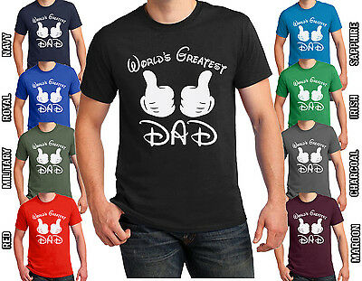 BEST DAD EVER T-shirt #1 Dad Father/'s Day daddy gift  Men/'s Size S-4XL Shirts