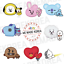BTS-BT21-Character-Portable-Hand-Warmer-Power-Bank-7types-Authentic-K-POP-MD miniature 1
