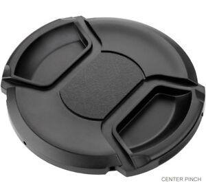 + Lens Cap Microfiber Cloth Lens Cap Center Pinch for Canon EOS 70D 62mm