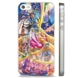 finest selection ee69a 5a381 Details about Amazing Collage Tangled Rapunzel CLEAR PHONE CASE COVER fits  iPHONE 5 6 7 8 X