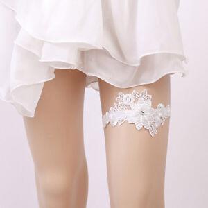 Image Is Loading Lace Wedding Garter Flowers Y Garters Ceremony