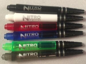 Set-of-3-Dart-Stem-Shafts-Red-Dragon-Nitrotech-Medium-42mm-Various-Colours