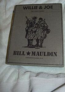 NJ-008-Willie-amp-Joe-WWII-Years-Bill-Mauldin-2-Volumes-2008-with-Silp-Cover