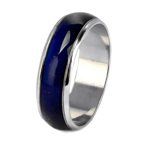20xEinstellbare Stimmungsringe Farbe Änderung Ring Mode Schmuck Größe 6-10