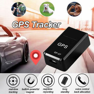 5b0d4a0e0 GF/07 Magnetic Mini GPS Real Time Car Locator Tracker GSM/GPRS ...