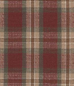 Longaberger-79-04-Small-Fruit-Basket-Orchard-Park-Plaid-Red-Fabric-Liner-NIP