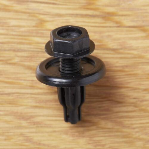 Honda Civic EG EK Del Sol Accord Odyssey Engine under cover liner lock clip 10x